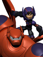 baymax hiro big hero 6 disney infinity 2.0