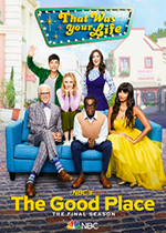 the Good Place digital props