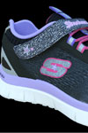 skechers kids memory foam purple